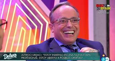 Urdaci confiesa en el Deluxe el lugar más raro donde ha tenido relaciones sexuales