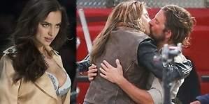 Irina Shayk, celosa tras ver a su novio besando a otra