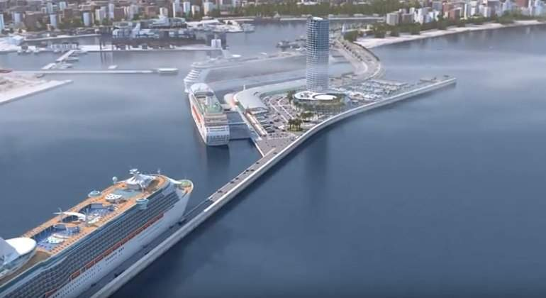 El Málaga Port, un hotel del futuro para Málaga