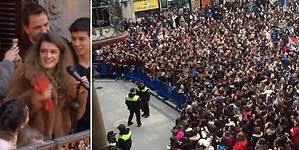 Brutal homenaje a Amaia (OT) en Pamplona: miles de personas aclaman a la ganadora
