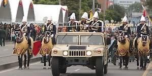Colombia celebra la Independencia con un desfile militar para garantizar la paz