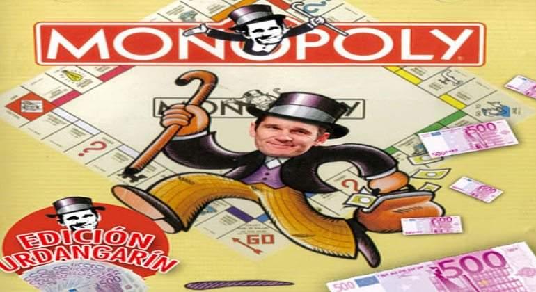 Crean Una Edicion De Monopoly De Tramposos Ideal Para Urdangarin Y