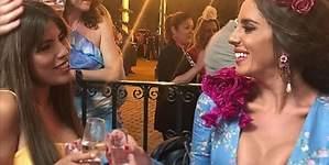 La exuberancia de Anabel Pantoja en la Feria de Abril