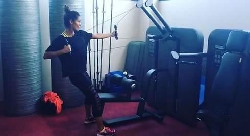 Lara Álvarez: así es su entrenamiento de Alta Intensidad
