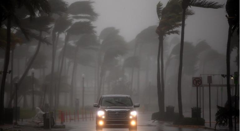 Trump declaró estado de catástrofe natural para Florida por huracán Irma