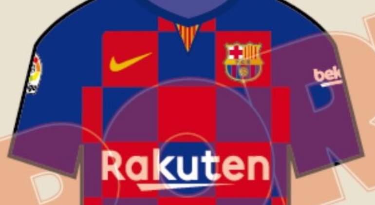 Revolución en la camiseta del Barcelona  Nike cambiará las rayas por ... a4c11cb1243