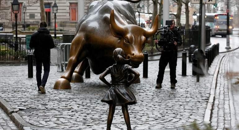 Wall Street termina la semana en máximos con una subida cercana al 2%
