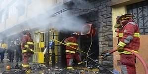 El 13% de siniestros que afectan a las pymes son incendios
