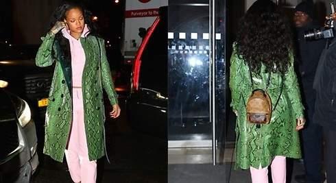 Rihanna: su mochila ya es un must fashion