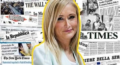 Cristina Cifuentes traspasa fronteras: la prensa mundial recoge su escándalo