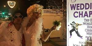 Eva González y Cayetano Rivera se casan en Las Vegas