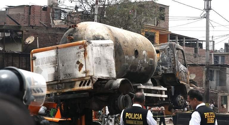 A ocho subió el número de fallecidos por explosión en Villa el Salvador