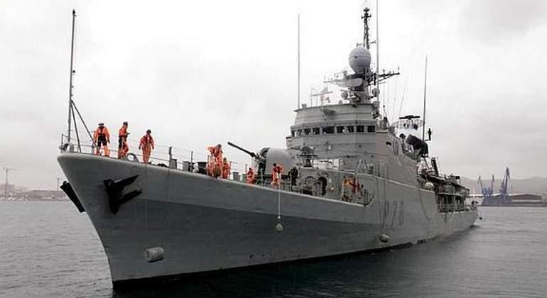 El patrullero de altura Cazadora causa baja en la Armada tras 36 años de servicio