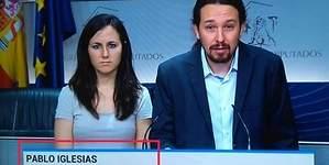 El error garrafal del Telediario de TVE con Pablo Iglesias