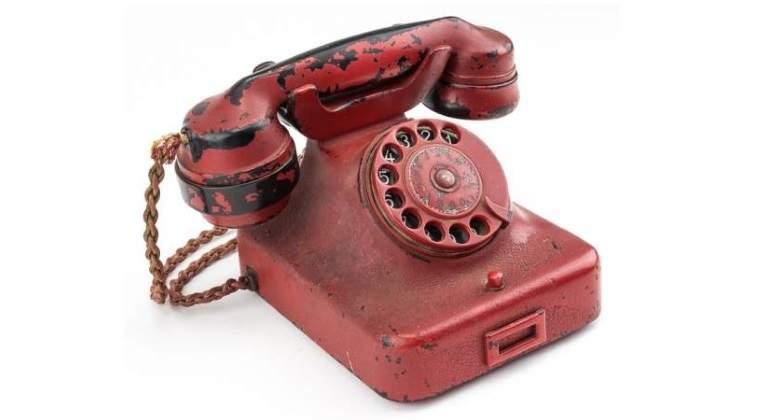 El mortífero teléfono Siemens del búnker de Adolf Hitler