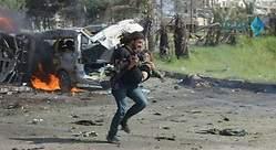 El fotógrafo que salvó a niños en un ataque en Siria