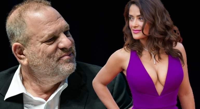 Salma Hayek: Harvey Weinstein es mi monstruo también