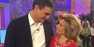 Pedro Sánchez llama a María Teresa Campos preocupado por su salud