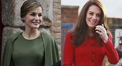 Letizia se cita con Kate Middleton en junio