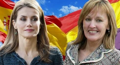 Letizia: la tía de la Reina pide la abolición de la monarquía
