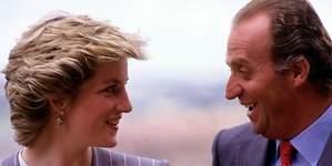 El rey Juan Carlos, un sobón según Lady Di