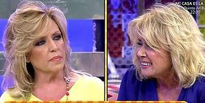 Lydia Lozano y Mila Ximénez, a gritos