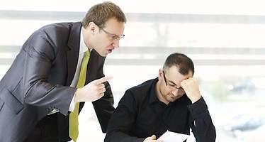 Los diez errores que más detestan los trabajadores de sus jefes