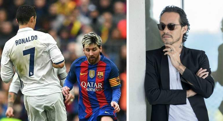 Marc Anthony cantará en el clásico Real Madrid - Barcelona