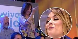 Ana Rosa Quintana vigila a Toñi Moreno