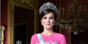 La tiara Flor de lís de la reina Letizia, una joya made in Spain de valor incalculable