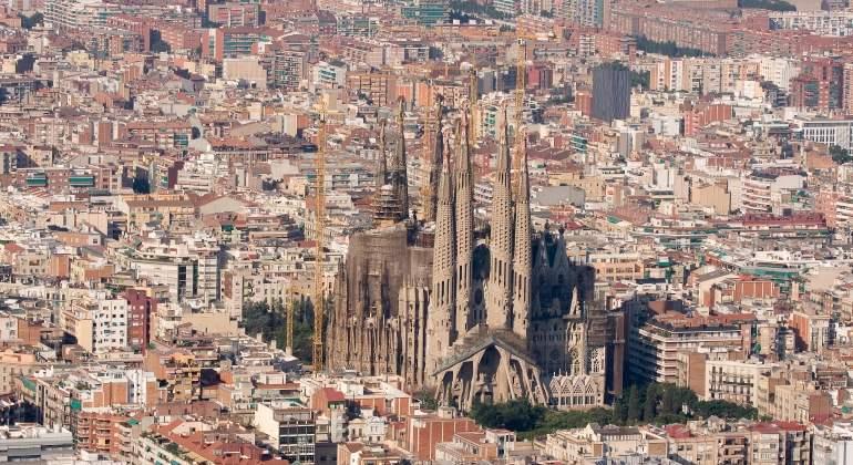 La Sagrada Familia será en 2022 el edificio más alto de Barcelona