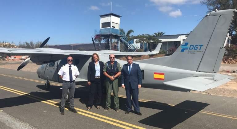 Refuerzos para el Pegasus: la DGT incorpora avionetas y drones para multar