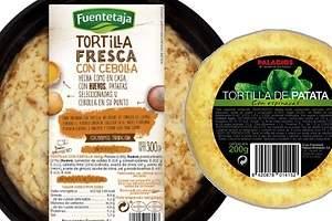 Compran las tortillas de Dia y Lidl