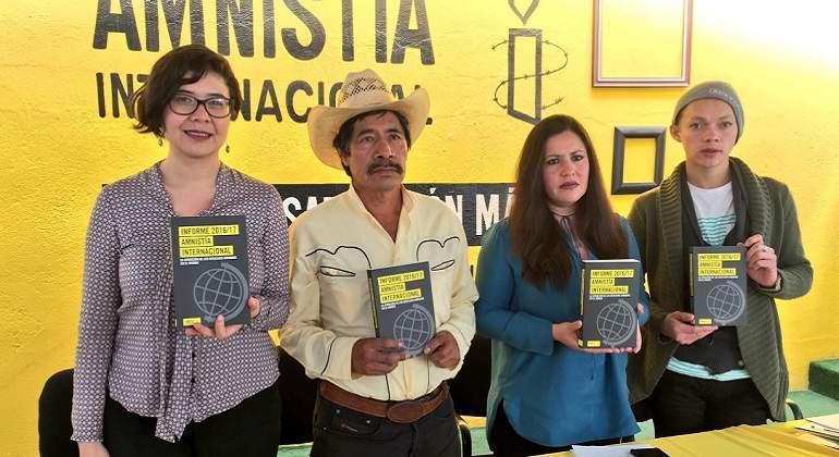 La crisis de derechos humanos en México continúa: AI