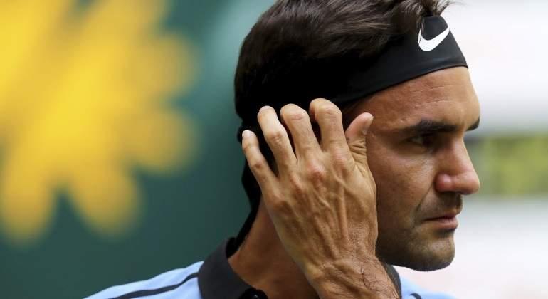 Federer elimina a Mayer y se sitúa en semifinales de Halle