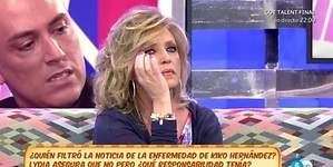 Lydia deja Sálvame por una brutal pelea con Kiko Hernández
