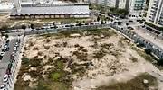 Vista del solar donde est prevista la construcin de la Ciudad Tributaria de la AEAT en Valencia GUILLERMO LUCAS