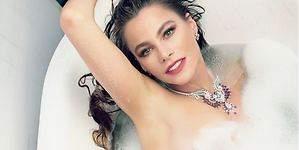 Sofía Vergara: sale a la luz su primer posado desnuda