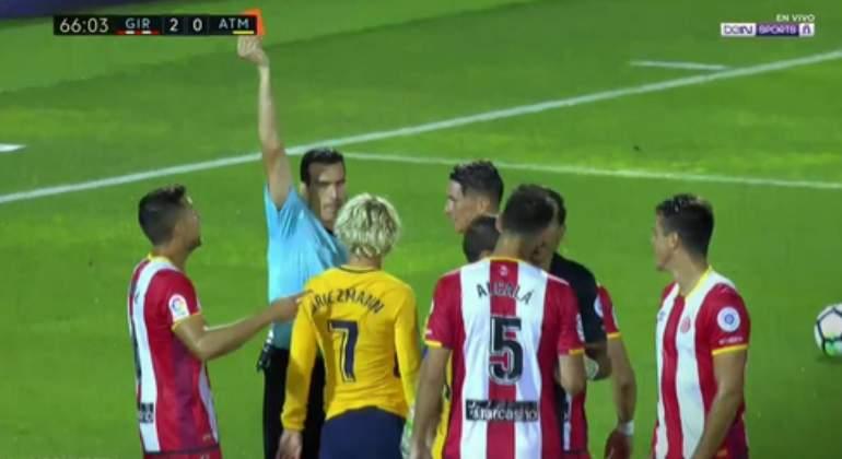 Competición sanciona con dos partidos a Griezmann y con uno a Ramos