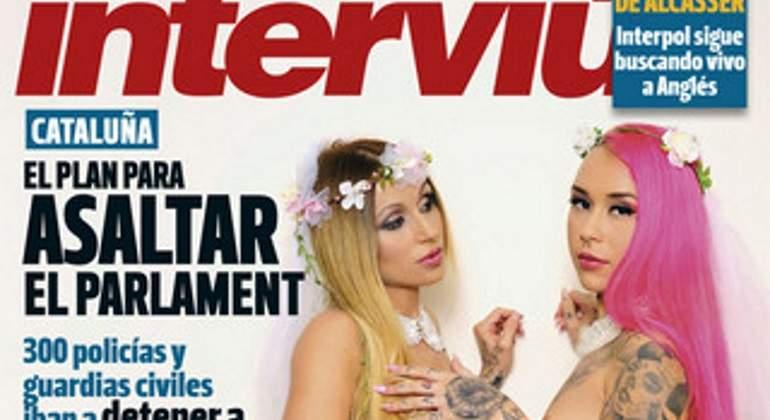Laura y Andrea, de QQCCMH, desnudas en la portada de Interviú