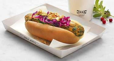 Los perritos calientes veganos de Ikea llegarán a España en agosto