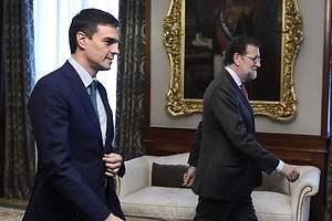 Rajoy se cita hoy con Sánchez