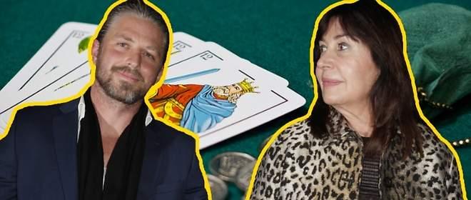 Carmen M. Bordiú se lleva a su novio a jugar a las cartas con sus amigas
