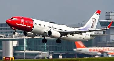 Norwegian perdió 159 millones euros netos hasta marzo, un 86% más interanual