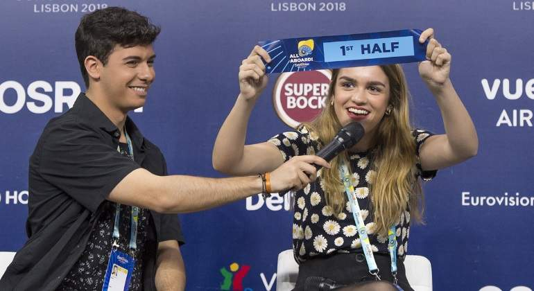 Amaia y Alfred actuarán en la primera mitad de la final de Eurovisión