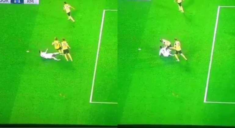 La agresión de Cristiano Ronaldo que pasó desapercibida en el Dortmund-Real Madrid