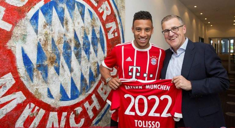 Bayern Múnich suma a Corentin Tolisso