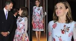 La reina Letizia estrena vestido y corte de pelo en Mallorca