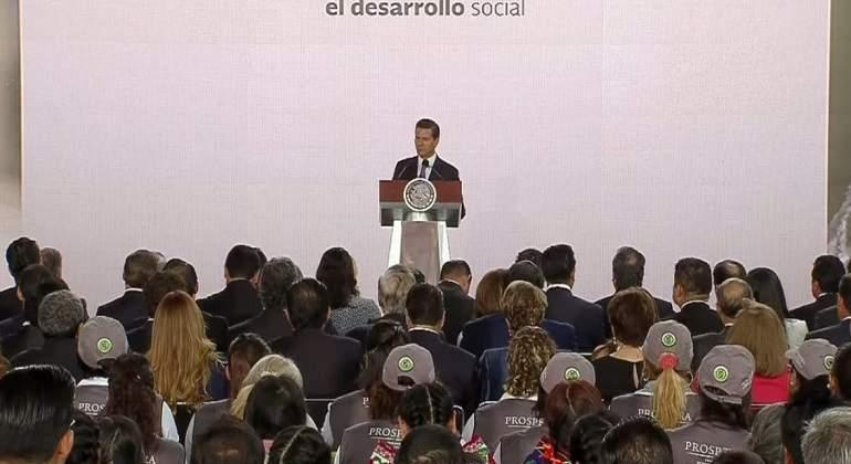 Presidente Peña Nieto destaca disminución de