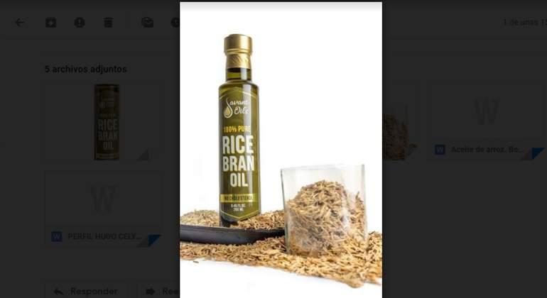 aceite arroz
